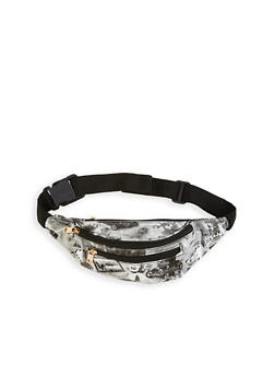 Graphic Print Fanny Pack - 1126067441115