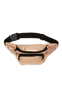 Textured Faux Leather Fanny Pack - 1126067441133