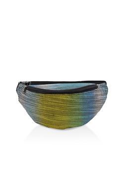 Lurex Knit Fanny Pack - 1126067442000