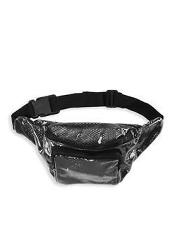 Clear Fishnet Fanny Pack - 1126067444888