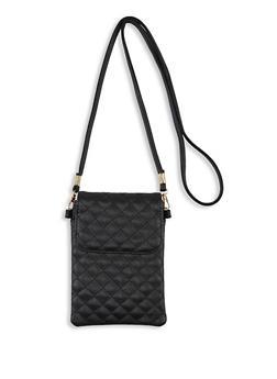 Quilted Crossbody Bag - 1126067445909
