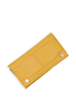 Solid Flap Wallet - 1126067446640