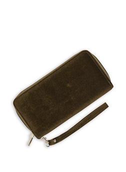 Velvet Double Zip Wallet - 1126067446807