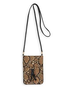 Rectangular Crossbody Bag - BROWN - 1126067447740