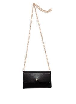 Faux Pearl Stud Crossbody Bag - 1126067448007