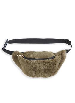 Faux Fur Fanny Pack - 1126067448051