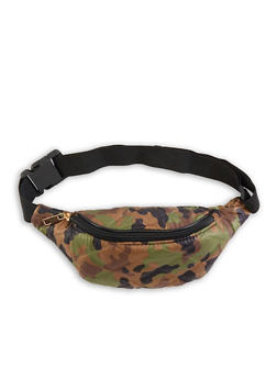 Quilted Camo Fanny Pack - 1126067448052
