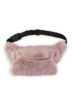 Faux Fur Fanny Pack - 1126067448068