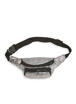 Plaid Fanny Pack - 1126067448078