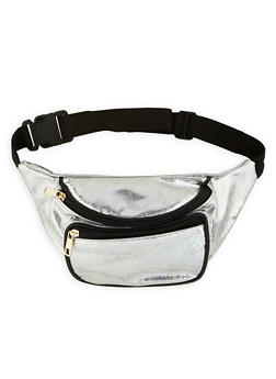 Holographic Print Fanny Pack - 1126067448079