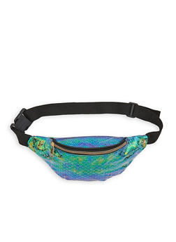 Holographic Printed Fanny Pack - 1126067448081