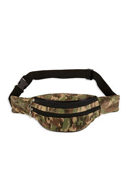 Camo Canvas Fanny Pack - 1126067448102