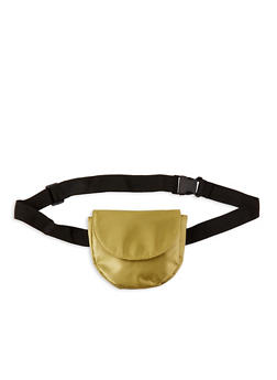 Satin Saddle Belt Bag - 1126067448103
