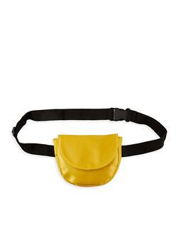 Satin Saddle Belt Bag - 1126067448103