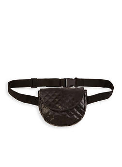 Quilted Saddle Belt Bag - 1126067448104