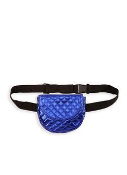 Quilted Saddle Belt Bag - 1126067448104