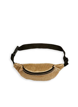 Textured Fanny Pack - 1126067448105