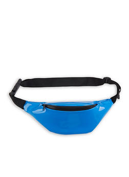 Faux Patent Leather Fanny Pack - 1126067448135