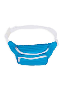 Quilted Contrast Trim Fanny Pack | 1126067449016 - 1126067449016