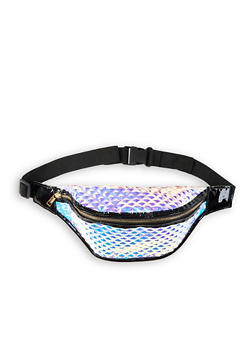 Iridescent Embossed Fanny Pack - 1126067449020