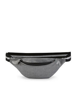 Embossed Dotted Fanny Pack - 1126067449028