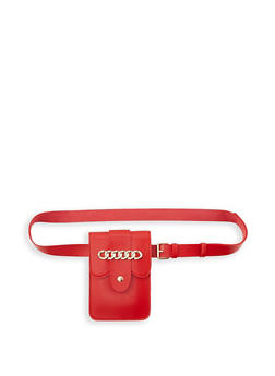 Chain Detail Belt Bag - 1126067449030