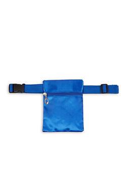 Square Satin Belt Bag - 1126067449033