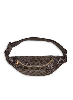 Quilted Sequin Fanny Pack - 1126067449040
