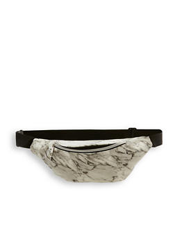 Marbled Fanny Pack - 1126067449041