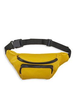 Embossed Faux Leather Fanny Pack - 1126067449045