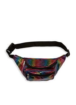 Rainbow Stripe Fanny Pack - 1126067449047