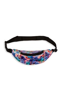 Glitter Tie Dye Fanny Pack - 1126067449050