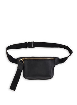 Textured Faux Leather Fanny Pack  ed49d5b47d