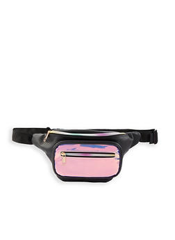 Iridescent Front Pouch Fanny Pack - 1126067449056