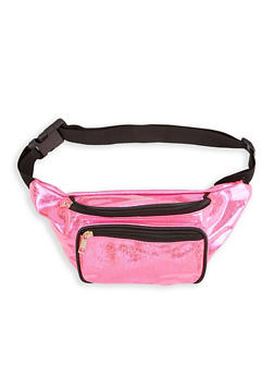 Holographic Confetti Print Fanny Pack - 1126067449065