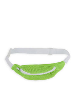 Mesh Single Zip Fanny Pack - 1126067449069