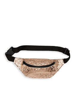 Textured Faux Leather Fanny Pack   1126067449078 - 1126067449078