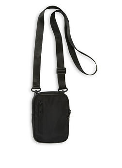 Nylon Zip Crossbody Bag - 1126067449132