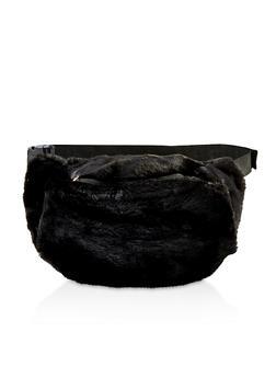 Faux Fur Fanny Pack - 1126067449178