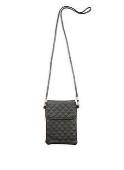 Quilted Crossbody Bag - 1126067449208