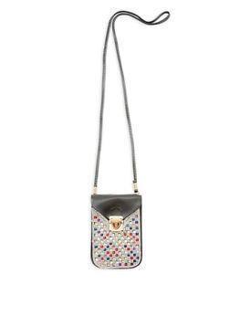 Bejeweled Crossbody Bag - 1126067449788
