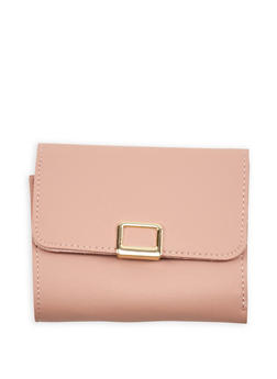 Mini Trifold Faux Leather Wallet - 1126073896050