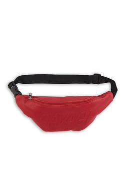 Savage Embossed Fanny Pack - 1126074390859