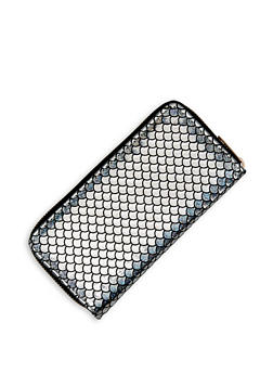 Shimmer Mermaid Scale Wallet - 1126074391334