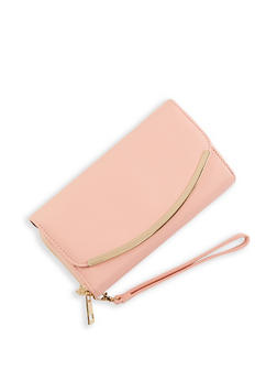 Double Zip Flap Wallet - 1126074391804