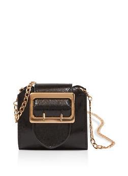 Mini Buckle Crossbody Bag - 1126074392387