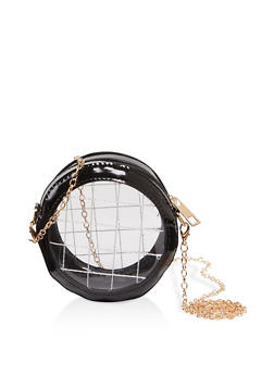 Small Round Crossbody Bag - 1126074392400