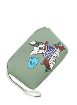 Dog Graphic Wristlet - 1126074397885