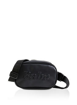 Babe Embossed Fanny Pack - 1126074399159