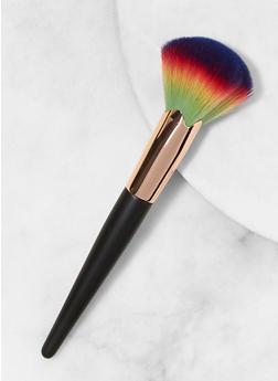 Rainbow Bristle Face Brush - 1127056171260